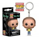 "Mortimer ""Morty"" Smith Rick and Morty Funko POP! Keychain Action Figure Vinyl PVC Minifigure Toy"