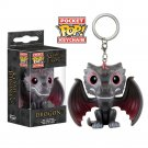 Drogon Game of Thrones Funko POP! Keychain Action Figure Vinyl PVC Minifigure Toy