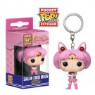 Sailor Chibi Moon Anime Funko POP! Keychain Action Figure Vinyl PVC Minifigure Toy