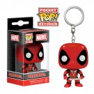 Deadpool Marvel Super Heroes Funko POP! Keychain Action Figure Vinyl PVC Minifigure Toy