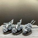 3pcs Ravenwing Bike Squad Dark Angels Space Marine Warhammer Resin Models 1/32 Action Figures