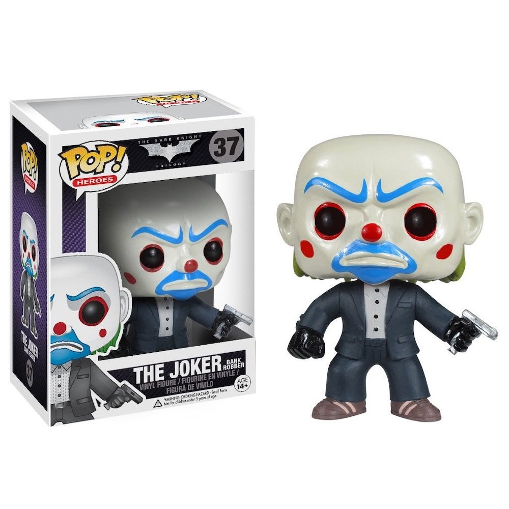 The Joker Bank Robber �37 The Dark Knight Trilogy Batman DC Comics Funko POP! Action Figure Vinyl
