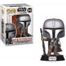 The Mandalorian Star Wars №345 Funko POP! Action Figure Vinyl PVC Toy