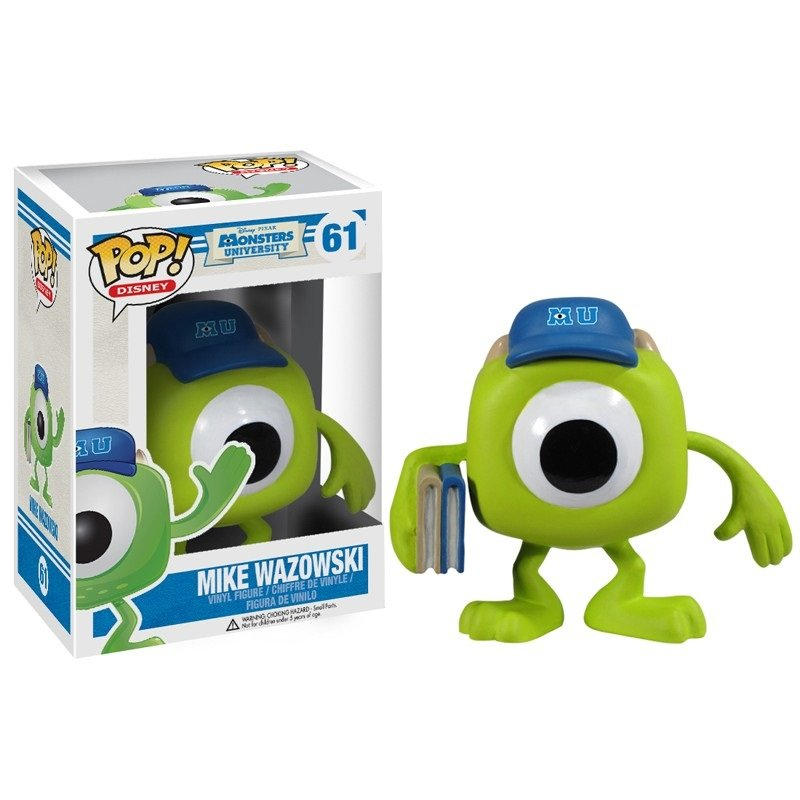 Mike Wazowski Monsters University №61 Disney Pixar Funko POP! Action Figure Vinyl PVC Toy