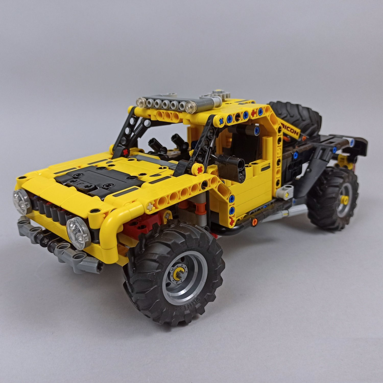 Jeep Wrangler Technic Building Blocks Toys Compatible 42122 Lego