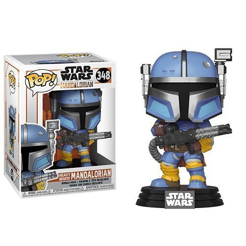 Heavy Infantry Mandalorian Star Wars �348 Funko POP! Action Figure Vinyl PVC Toy