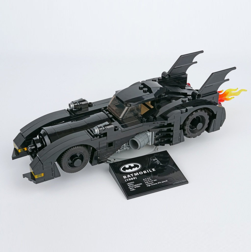 1989 Batmobile Batman DC Comics Super Heroes Building Blocks Compatible 40433 Lego