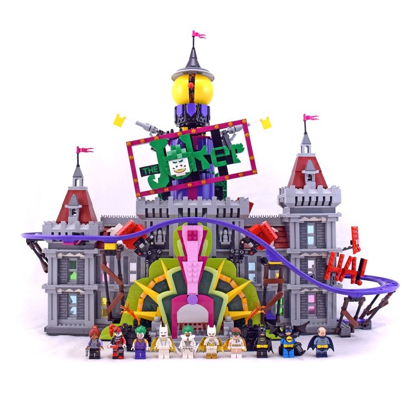 The Joker Manor Batman DC Comics Super Heroes Building Blocks Compatible 70922 Lego