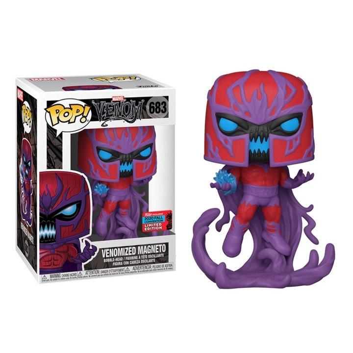 Venomized Magneto Venom �683 Marvel Super Heroes Funko POP! Action Figure Vinyl PVC Minifigure Toy