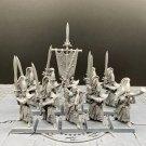 10pcs Swordmasters of Hoeth High Elf Elves The Island of Blood Fantasy Warhammer Resin Models 1/32