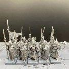 10pcs Lothern Sea Guard High Elf Elves The Island of Blood Fantasy Warhammer Resin Models 1/32