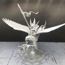 1pcs Prince on Griffon High Elf Elves The Island of Blood Fantasy Warhammer Resin Models 1/32
