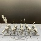 10pcs Skaven Clanrats The Island of Blood Fantasy Warhammer Resin Models 1/32 Action Figures Toys