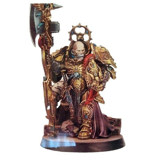 1pcs Ixion Hale Legio Custodes Tribune Imperial Army Warhammer 40k Resin Toys Games