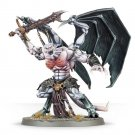 1pcs Daemon Prince Champion Chaos Space Marines Warhammer 40k Resin Toys Games