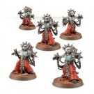 5pcs Corpuscarii Electro-Priests Adeptus Mechanicus Imperial Army Warhammer 40k Resin Games