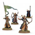 4pcs Galadhrim Commanders Elves Elven Kingdoms Lord Of The Rings Resin Figures Toys Games