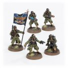 5pcs Command Squad Death Korps of Krieg Astra Militarum Imperial Army Warhammer 40K Forge World