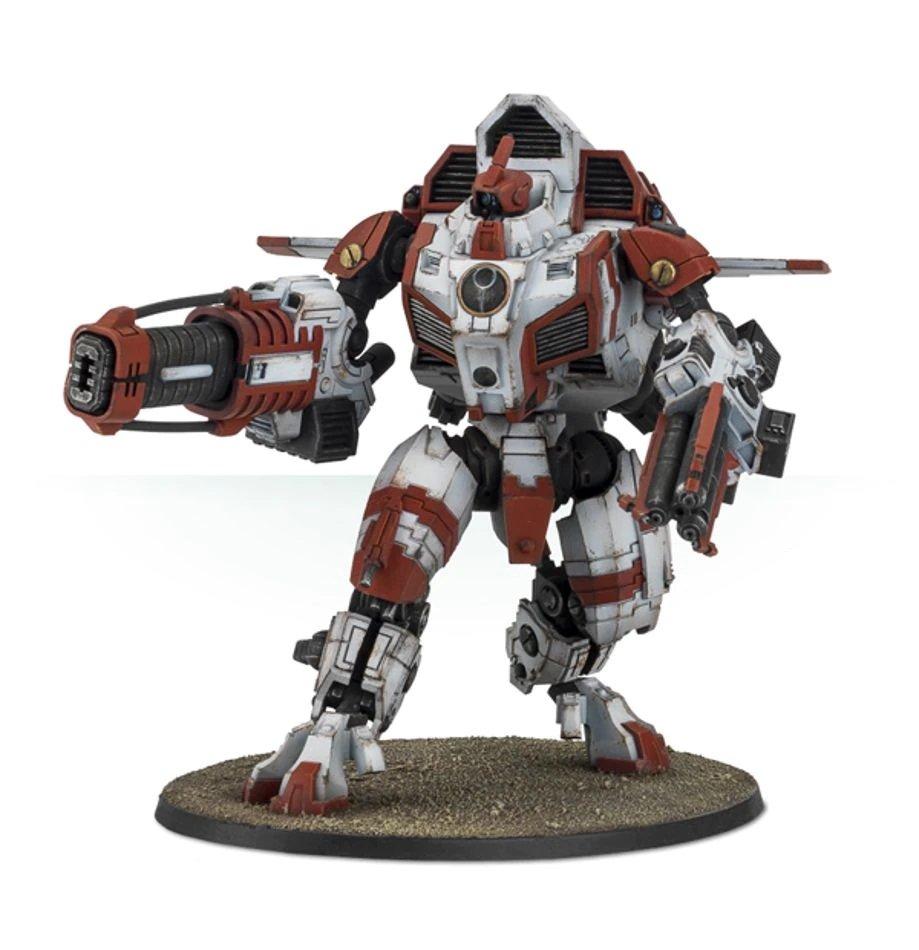 1pcs XV109 Y'vahra Battlesuit Tau Empire Warhammer 40K Resin Forge World