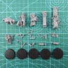 5pcs Quartermaster and Retinue Death Korps of Krieg Astra Militarum Warhammer 40k Forge World