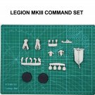2pcs Command Set MKIII Armour Crusade Power Space Marine Warhammer 40k Forge World Action Figures