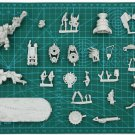1pcs Ork Warboss on Bike Xenos Army Warhammer 40k Forge World Action Figures Toys Games