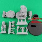 1pcs Alexis Polux Captain Imperial Fists Legion Space Marine Warhammer 40k Forge World Figures Toys