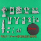 1pcs Battlesuit Commander Shas'o R'alai with Drones Tau Empire Warhammer 40k Forge World Figures