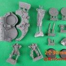 2pcs Casan Sabius & Sirae Karagon Ordon Rift Red Scorpions Space Marine Warhammer 40k Forge World