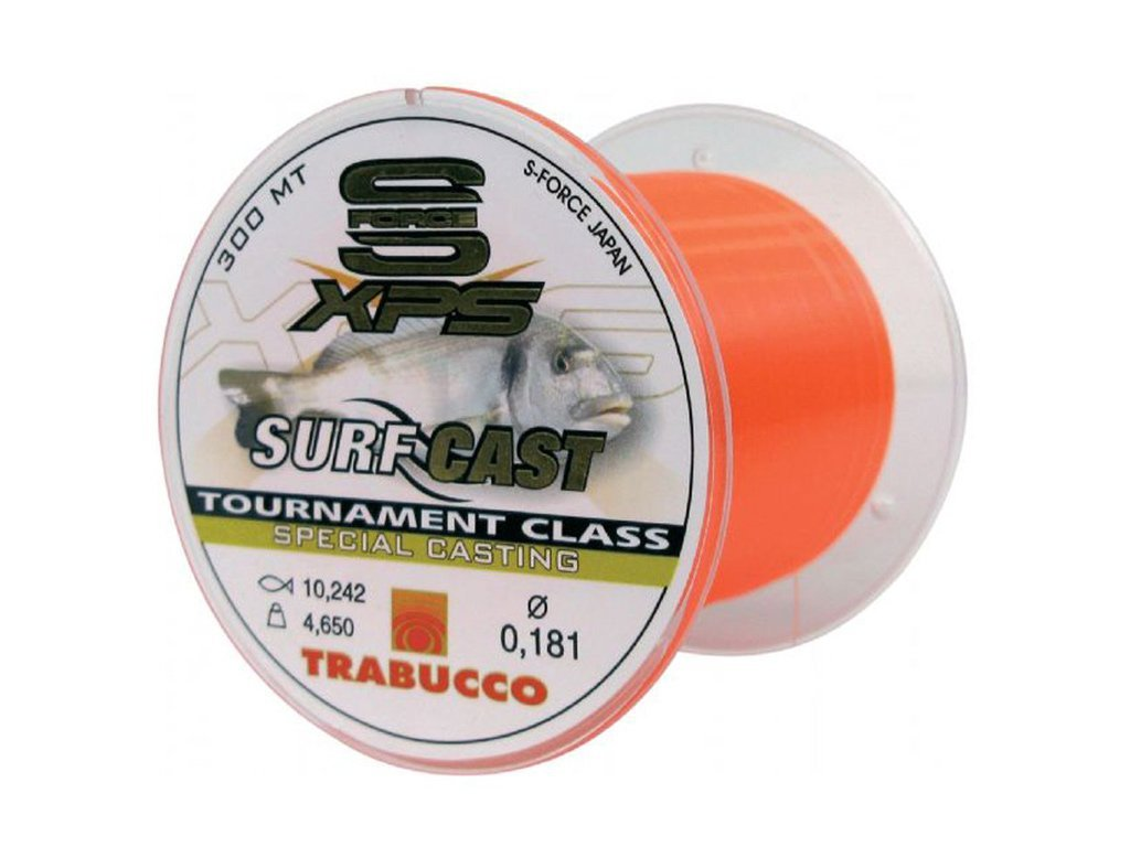 TRABUCCO S-FORCE XPS SURF CAST 300mt. 0.20 Fishing line monofilament