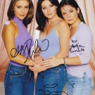 Charmed  Autographed Photo x 3 Shannon Doherty, Holly Marie Combs & Alyssa Milano (Ref:000011)