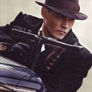 Johnny Depp / Public Enemies Autographed Photo - (Ref:000016)