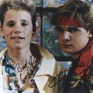 The Lost Boys Cast x 2 Autographed Photo (Corey Feldman & Corey Haim / Ref: 000023)