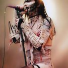 """Marilyn Manson 8 x 10"""" Autographed / Signed Photo (Reprint 024) FREE SHIPPING"""