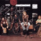 "Bon Jovi (Rock Band) 8 x 10"" Autographed Photo signed by all 4 Members -(Reprint 0032)"