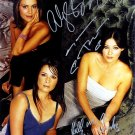 Charmed Autographed Photo x 3 Shannon Doherty, Holly Marie Combs & Alyssa Milano (Reprint:39)
