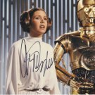 """Carrie Fisher (Princess Leia Star Wars) 8 x 10"""" Autographed Photo (Reprint 00054) Great Gift Idea!"""