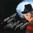 Robert Englund / A Nightmare on Elm St Autographed Photo - (Ref:00057)