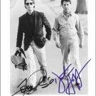 Rain Man Cast x 2 Autographed Photo (Dustn Hoffman & Tom Cruise Ref: 000058)