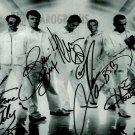 "Backstreet Boys (Pop group) 8 x 10"" Autographed Photo - (Reprint 0066)"