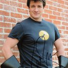 """Nathan Fillion Firefly / Castle 8 X 10"""" Autographed Photo - (Ref:000075)"""