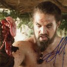 "Jason Momoa (Game of Thrones) 8 X 10"" Autographed Photo (Reprint 0081) ideal for Birthdays & X-mas"