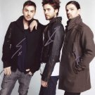 "30 Seconds to Mars (Pop Group) 8 x 10"" Autographed Photo - (Reprint 00088) FREE SHIPPING"