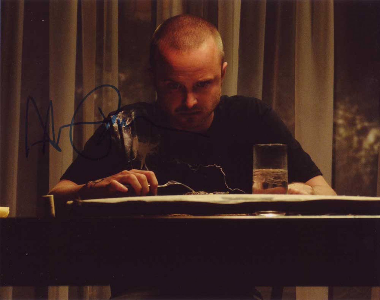 """Aaron Paul (Breaking Bad) 8 x 10"""" Autographed Photo (Reprint 000095) ideal for Birthdays & X-mas"""
