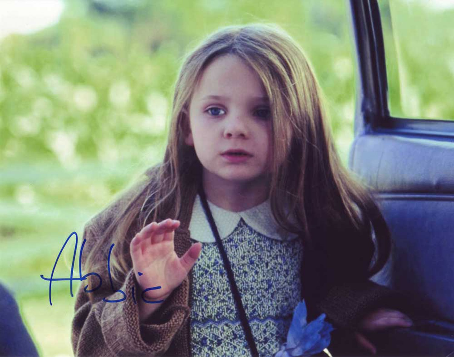 """Abigail Breslin Zombieland 8 x 10"""" Autographed Photo (Reprint:000105) FREE SHIPPING"""