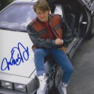 Michael J Fox / Back To The Future Autographed Photo - (Ref:0000112)