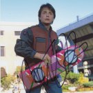Michael J Fox / Back To The Future 8  x 10 Autographed Photo - (Reprint 000113)