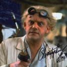 Christopher Lloyd Back To The Future Autographed Photo - (Ref:0000115)