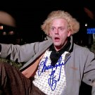 Christopher Lloyd Back To The Future Autographed Photo - (Ref:0000117)