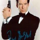 "Pierce Brosnan OO7 /James Bond 5 x 7"" Autographed Photo - (Reprint 00129)"